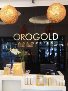 In-store view of OROGOLD Barcelona Location
