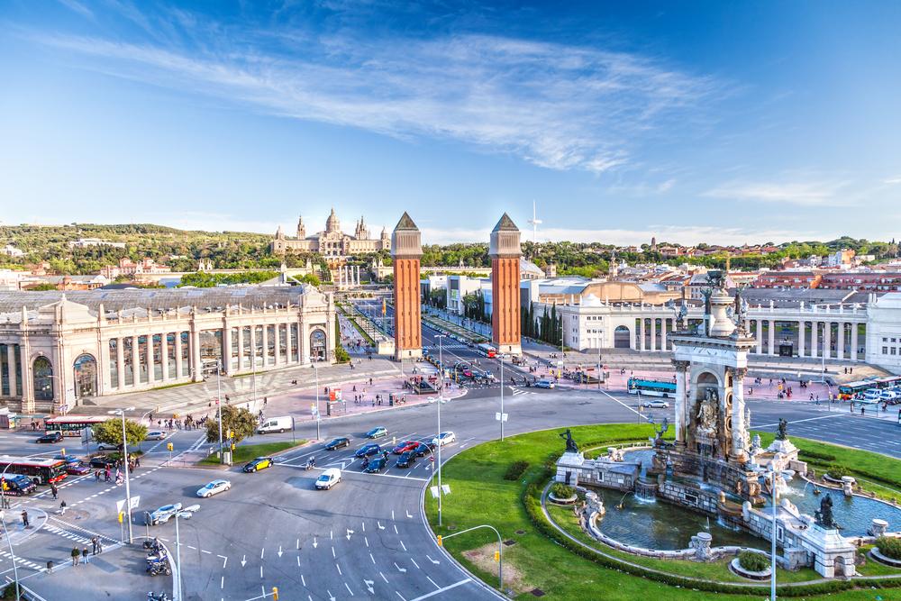 Center Of Barcelona
