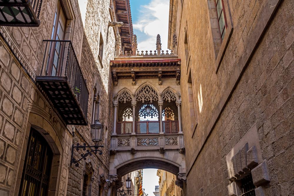 View Of Gothic Quarter