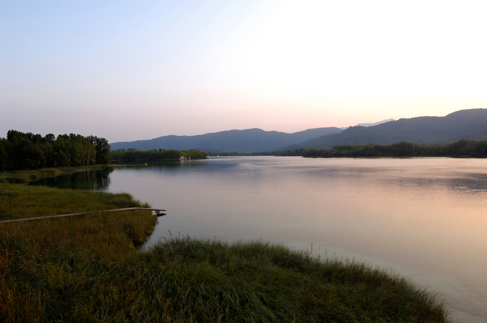 Amazing View Of Lake Of Banyoles